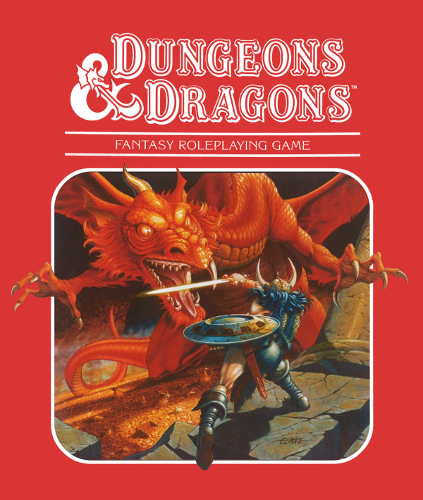 dungeons and dragons roleplaying game